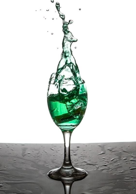 stage liquide figé